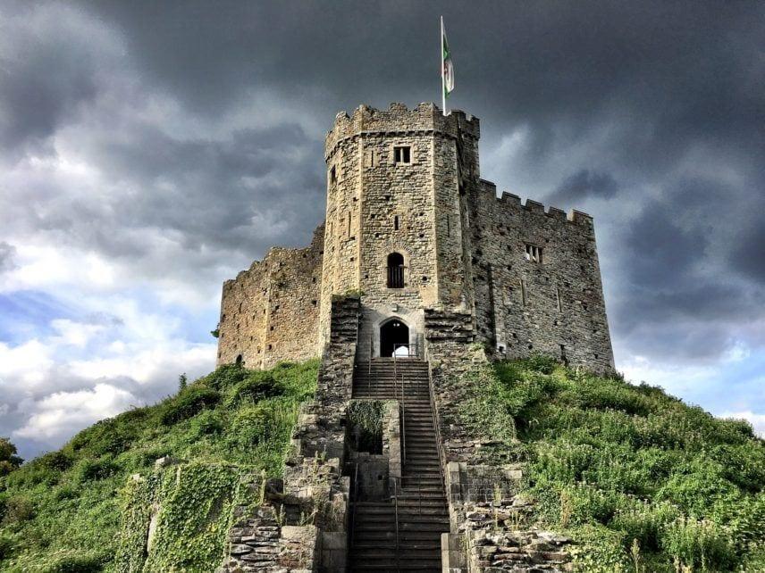 Cardiff Castle Wales UK