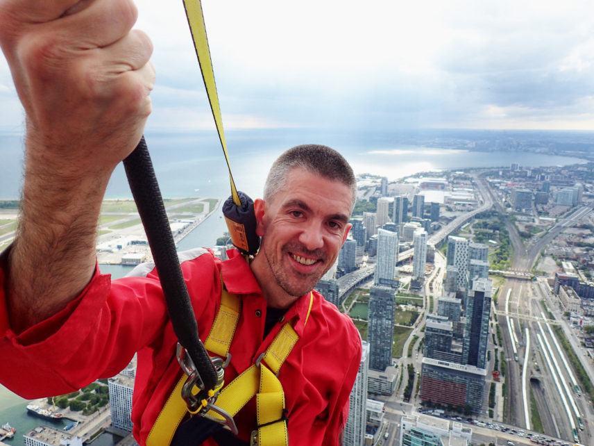 Matt Long LandLopers Toronto Edgewalk
