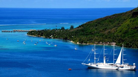Windstar Cruises ship Tahiti French Polynesia