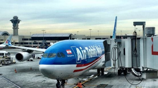 Air Tahiti Nui airplane LAX
