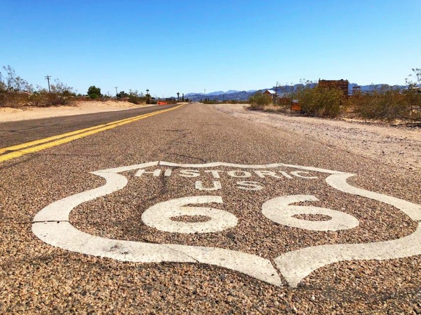 Route 66 Amboy California