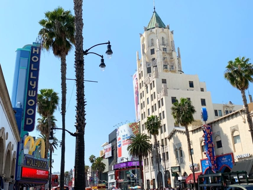 Hollwood Los Angeles California
